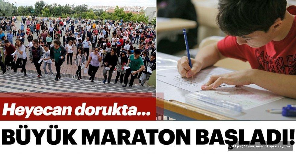 Büyük maraton! Öğrenciler içinLGS heyecanı başladı