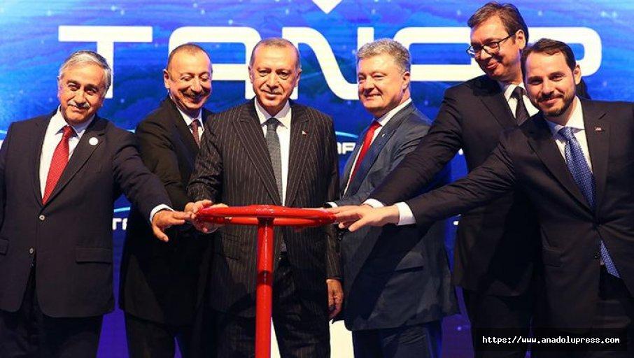 Cumhurbaşkanı Erdoğan, Tanap Açılış Töreninde Konuştu