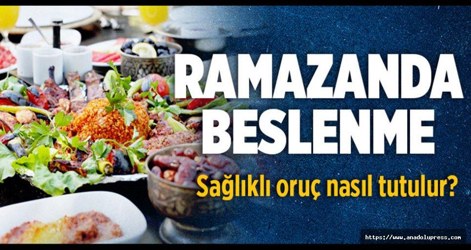 Ramazanda Beslenme ve Sıvı Tüketimi nasıl olmalı?