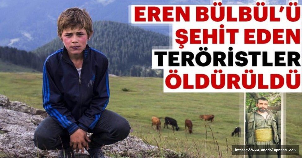 İşteEren Bülbül'ün KatiliPKK'lı Teröristin Öldürüldüğü Operasyonun Detayları
