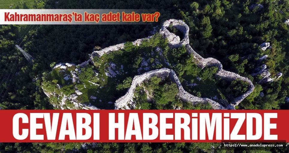 Kahramanmaraş'ta kaç adet kale var?