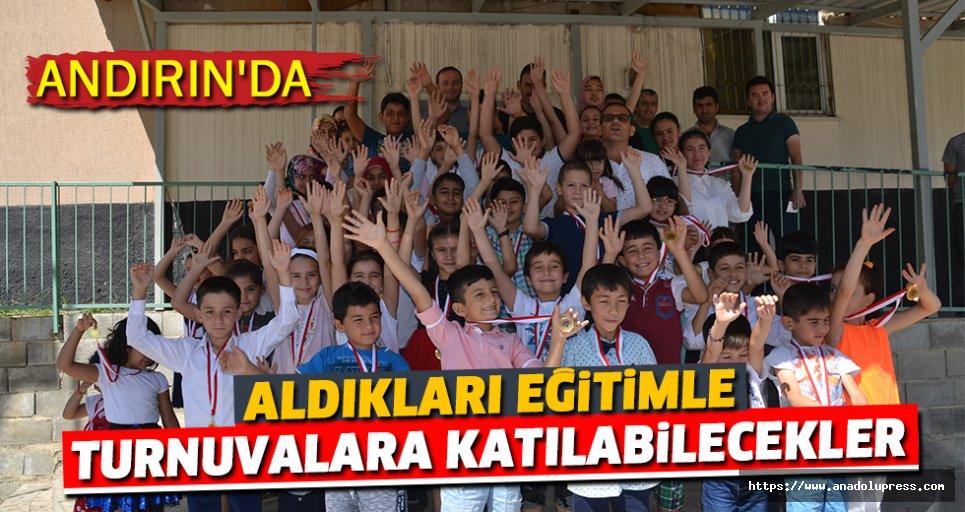Andırın'da Çocuklara Satranç Kursu