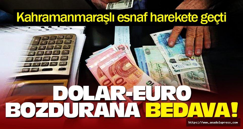 Dolar -Euro bozdurana kombi bakımı bedava!