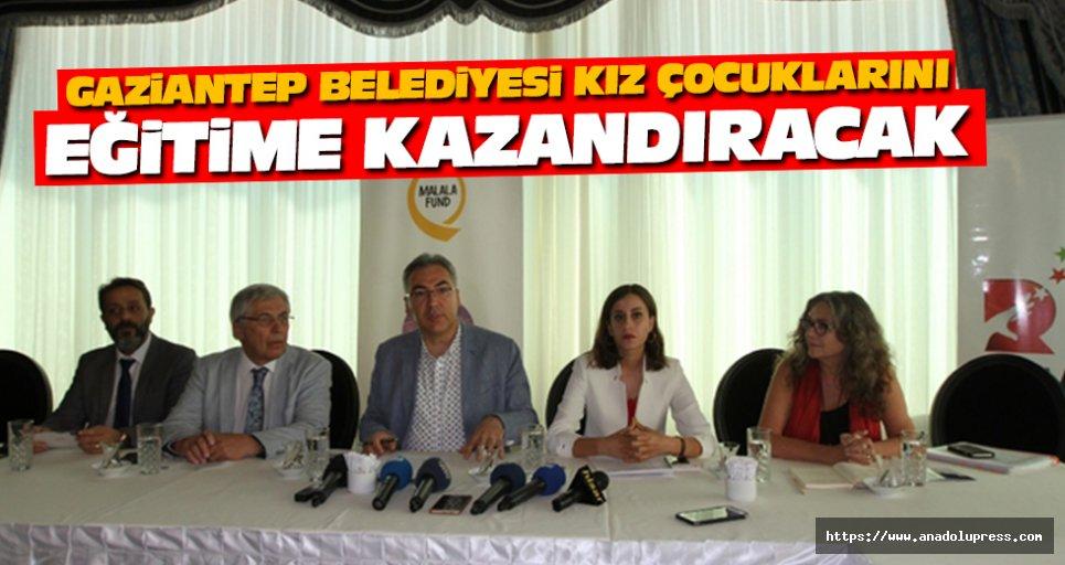 Gaziantep Büyükşehir Belediyesi Kız Çocuklarını Eğitime Kazandıracak