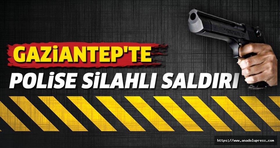 Gaziantep'tePolise Silahlı Saldırı