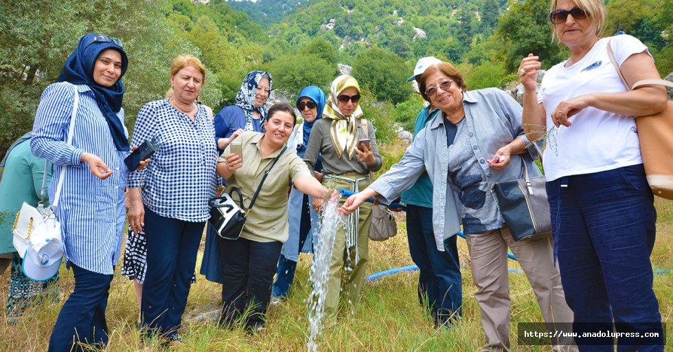 İl Kadın Platformu Temsilcileri İçme Suyu Kaynaklarında
