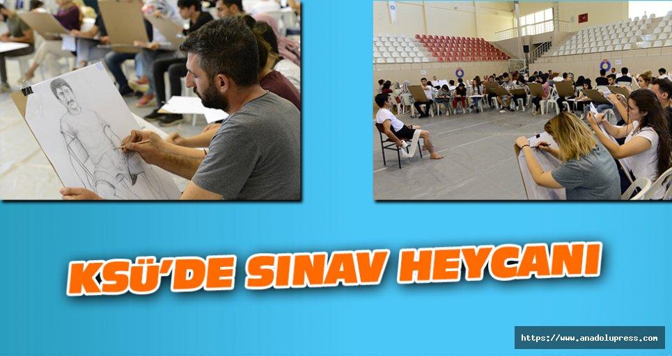 KSÜ'de Sınav Heycanı