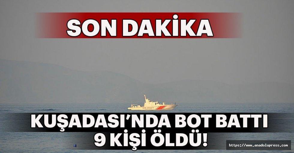 Kuşadası'nda Bot Battı, 9 Kişi Öldü