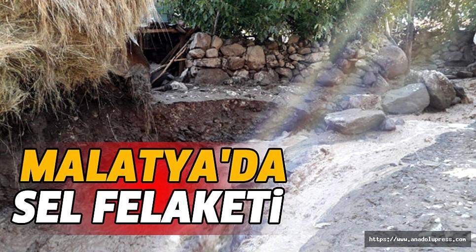 Malatya'da Sel Felaketi