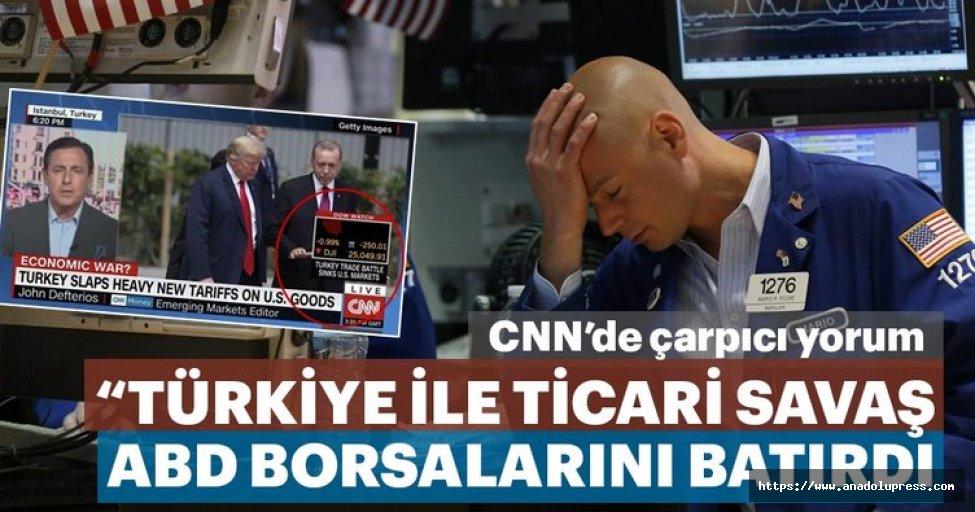 Türkiyeİle Ticari Savaş AbdBorsalarını Batırdı