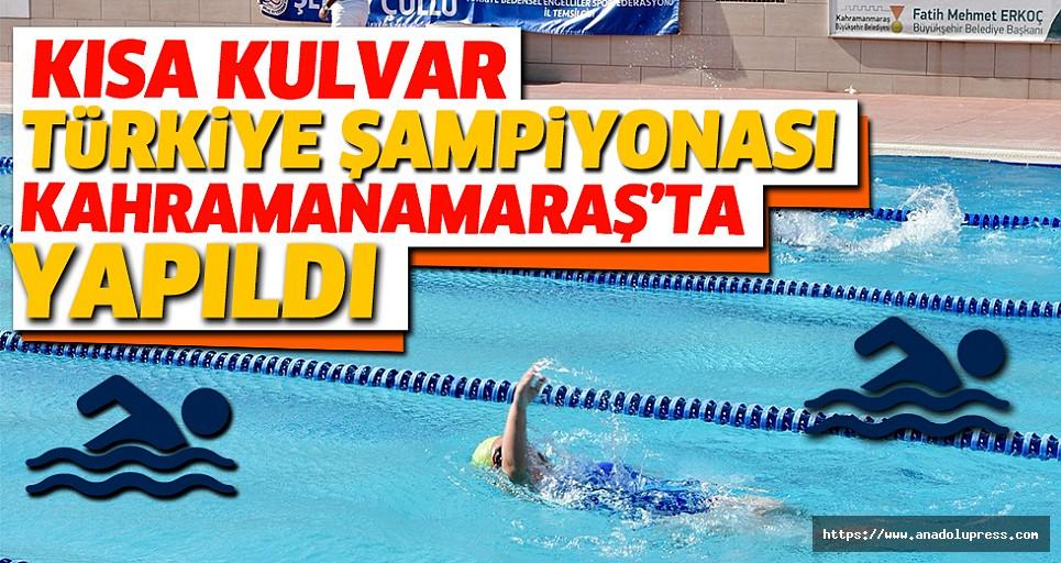 Yüzme: Bedensel Engelliler Kısa Kulvar Türkiye Şampiyonası