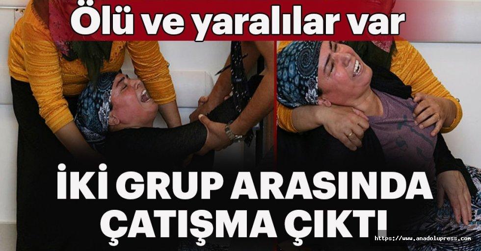 Adana'da iki grup arasında çatışma