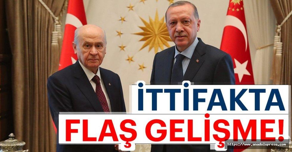 AK Partiile MHP arasında ittifak görüşmesi