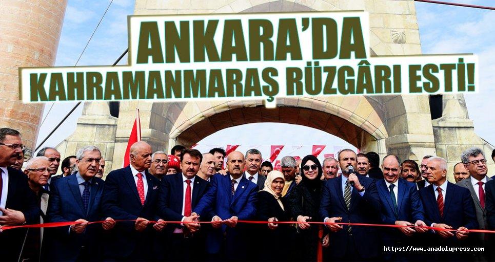 Ankara'da Kahramanmaraş rüzgârı esti!