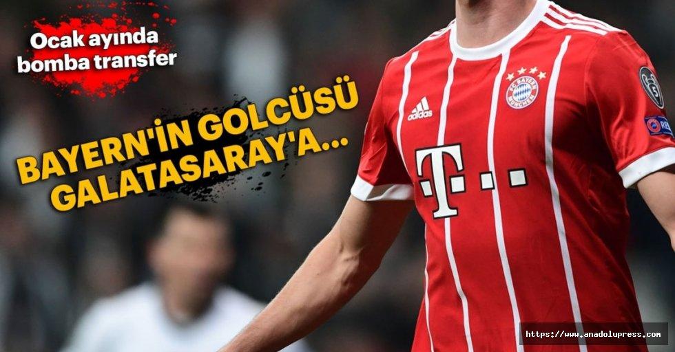Bayern'in golcüsügalatasaray'a...