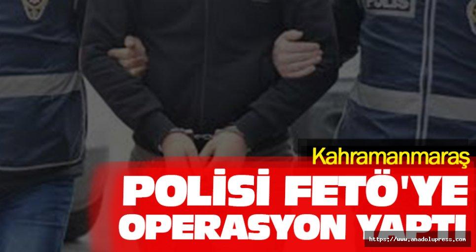 Kahramanmaraş Polisi Fetö'ye Operasyon Yaptı