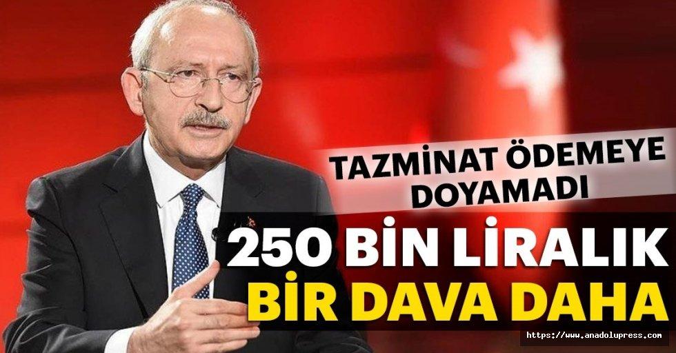 Kılıçdaroğlu'na 250 Bin Liralık Bir Dava Daha