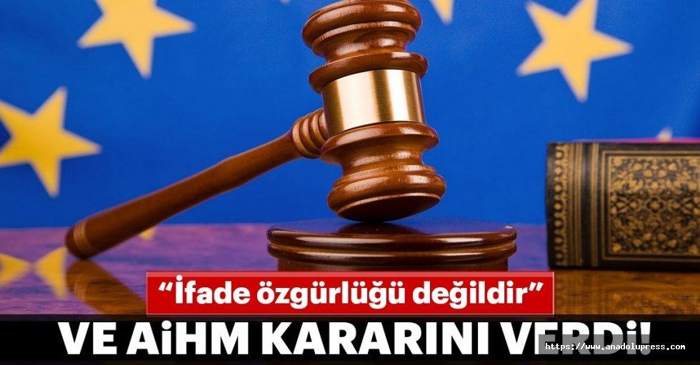 AİHM: Hazreti Muhammed'e hakaret, ifade özgürlüğü değil!