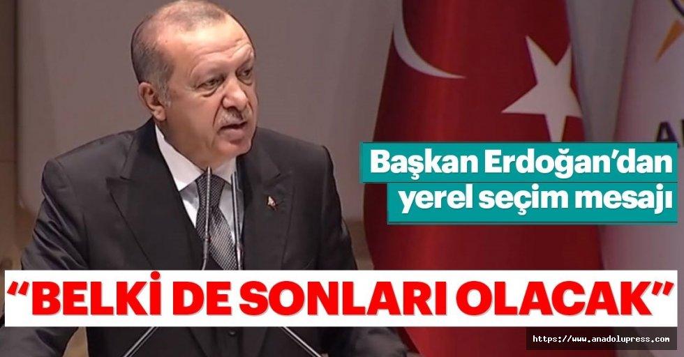 Başkan Erdoğan'dan Ankara'da flaş mesajlar...