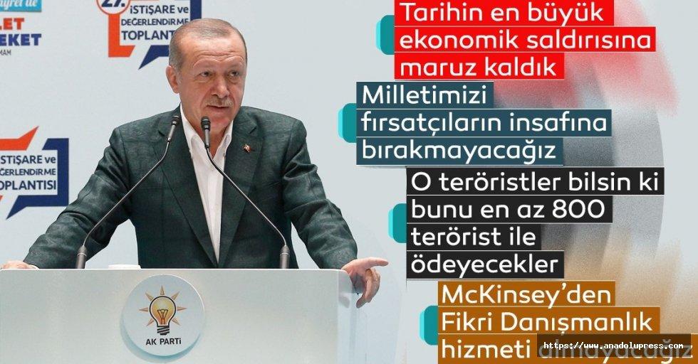 Başkan Erdoğantartışmalara son noktayı koydu!