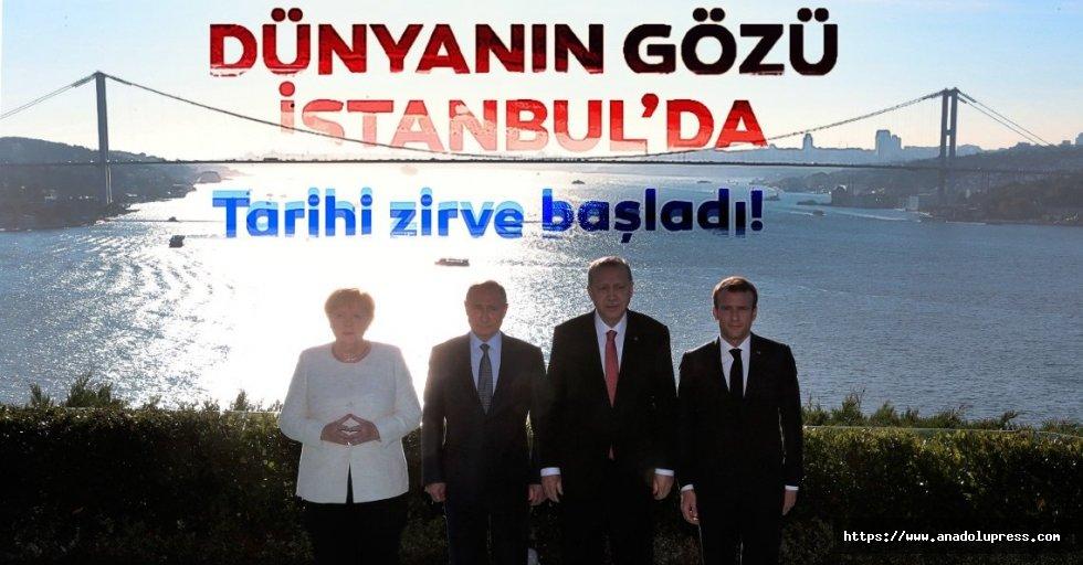 Cumhurbaşkanı Erdoğan: Dünyanın gözü bu toplantımıza yönelmiş durumda