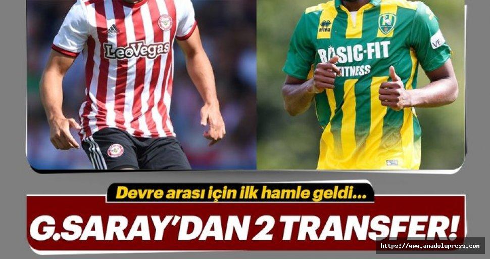 Galatasaray'da ikitransferhamlesi birden!