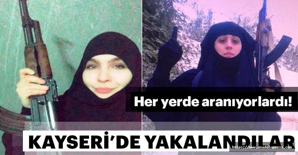 Rusyaher yerde arıyordu!Kayseri'de yakalandılar...