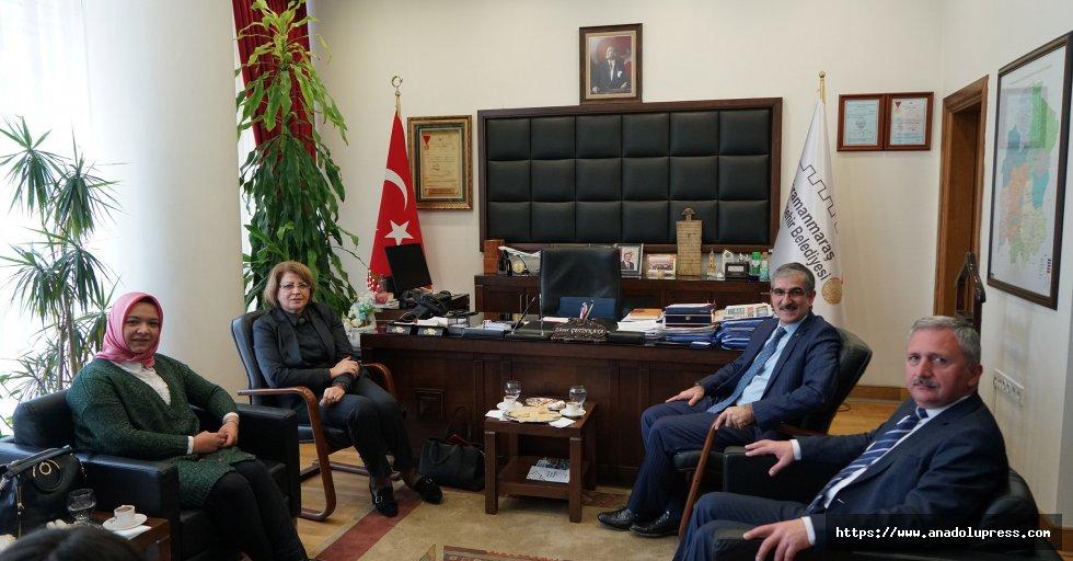 Azerbaycan Eğitim Müşavirinden Ziyaret