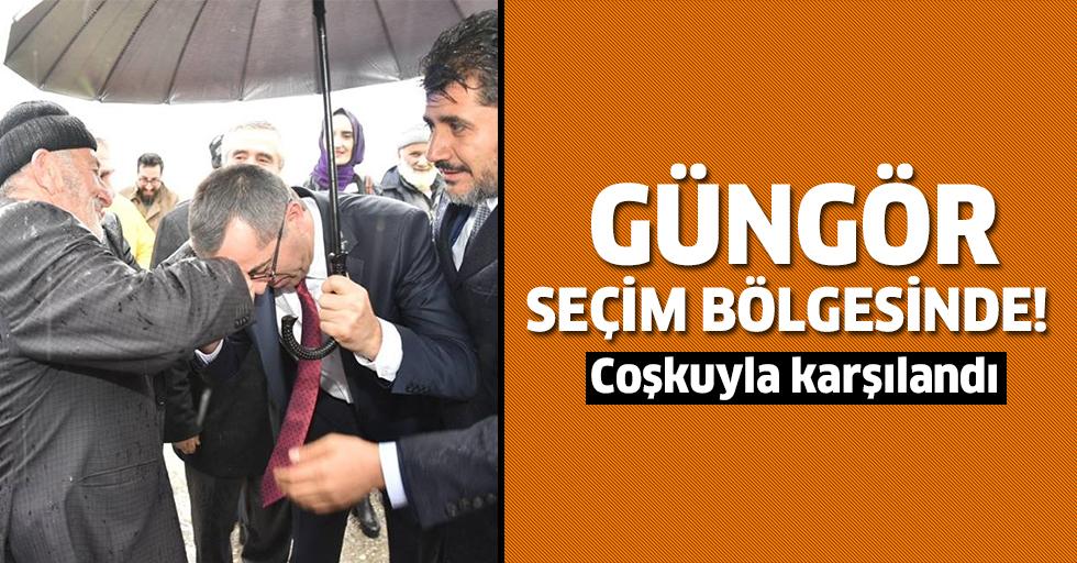 Güngör, seçim bölgesi Kahramanmaraş'ta