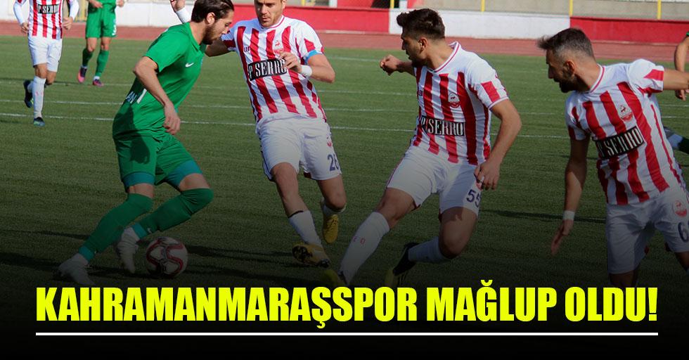 Kahramanmaraşspor: 0 - Kırklarelispor: 2