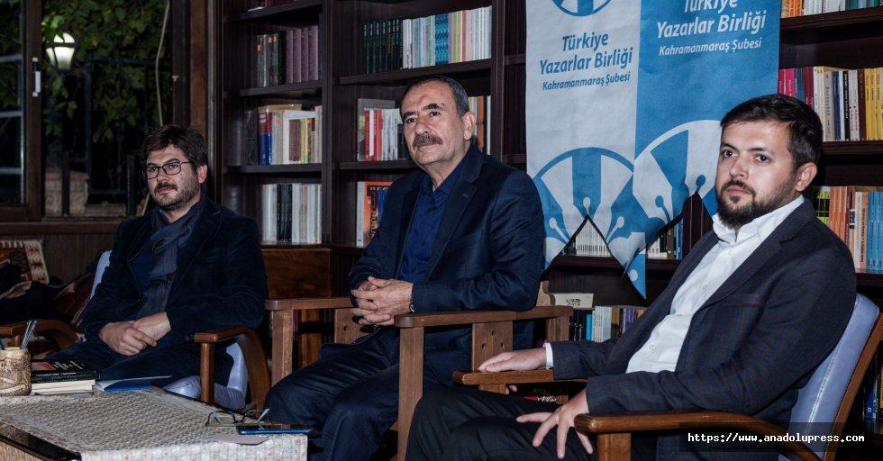 """TYB Kahramanmaraş Şubesinden """"Hasan Ejderha İle Söyleşi"""" Programı"""