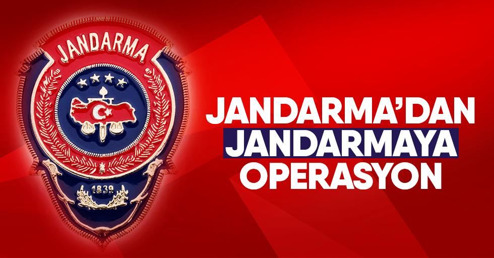 Jandarma'dan JandarmayaFETÖoperasyonu