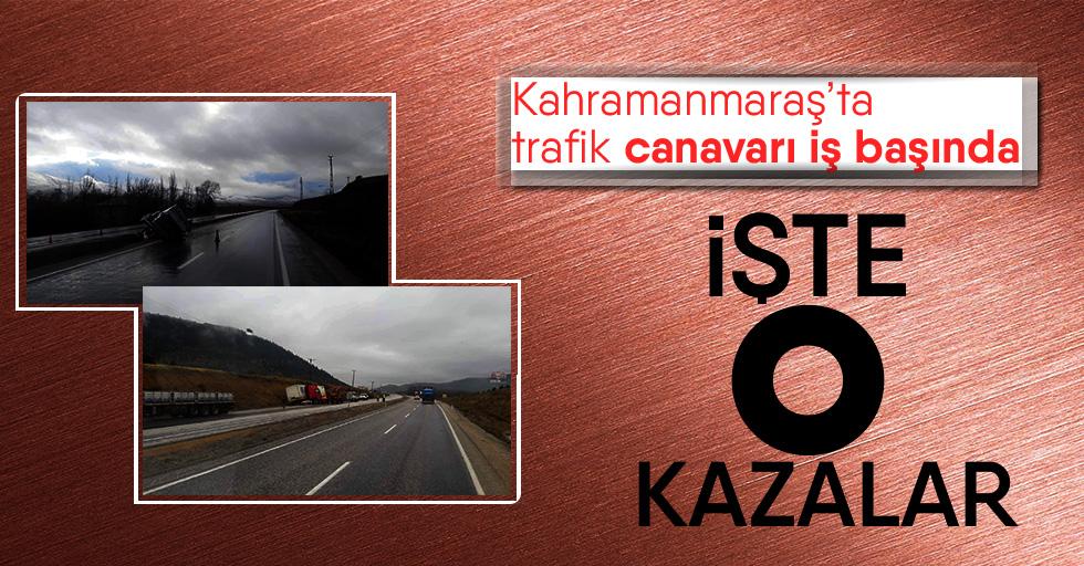 Kahramanmaraş'ta bir günde 4 ayrı trafik kazası