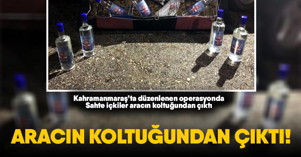 Kahramanmaraş'ta içki operasyonu!