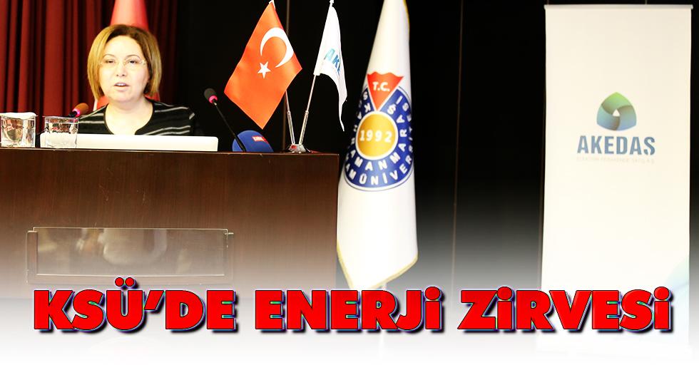 Ksü'de Enerji Zirvesi