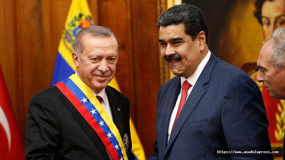 Maduro: Türk Halkına Kollarımızı Açmaya Karar Verdik