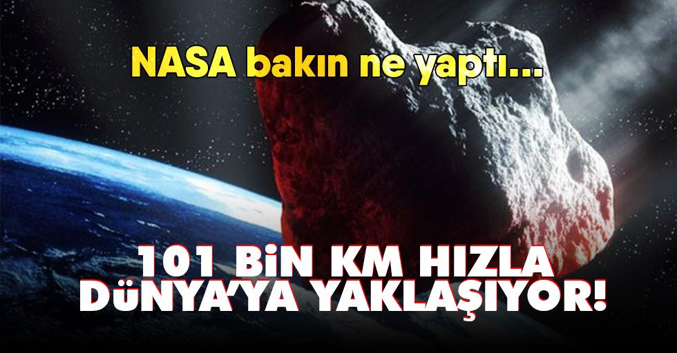 NASA,Dünya'ya çarpma riski bulunan asteroide kondu