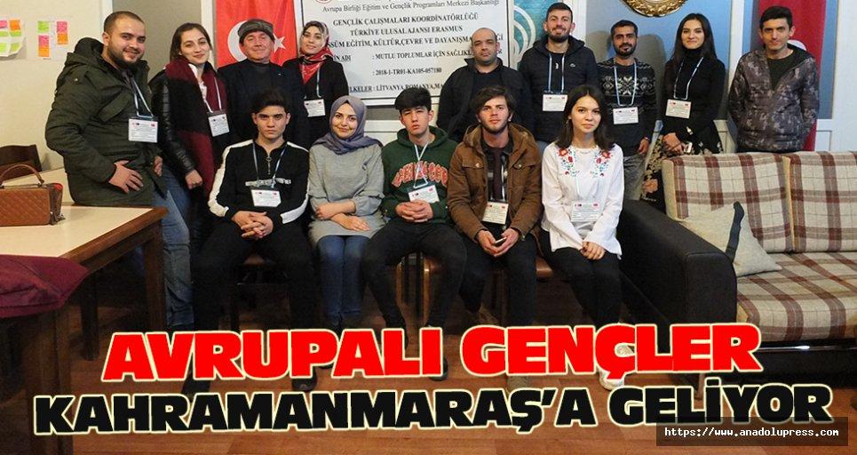 Avrupalı Gençler Kahramanmaraş'a Geliyor