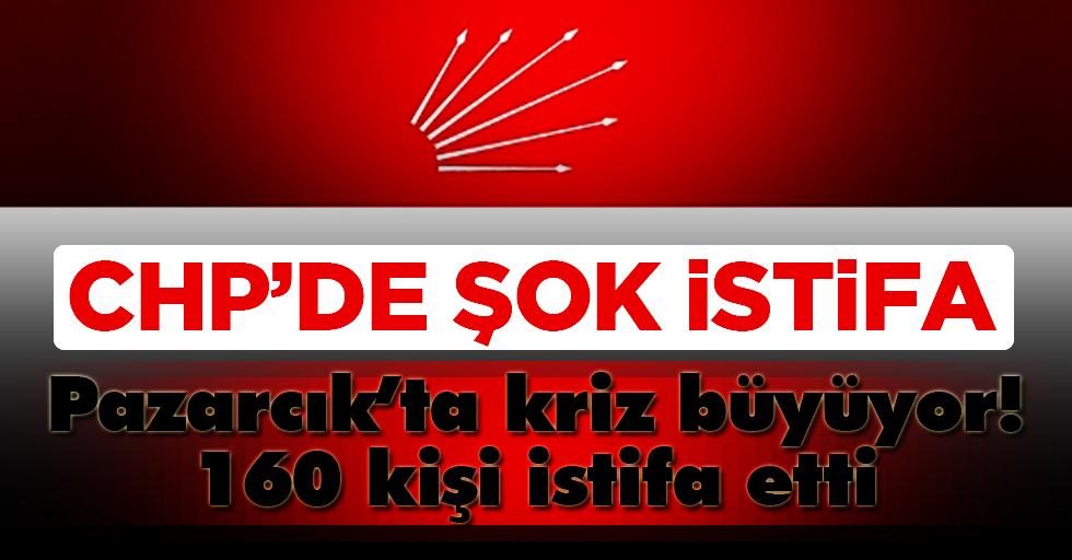 CHP Pazarcık teşkilatında kriz büyüyor!