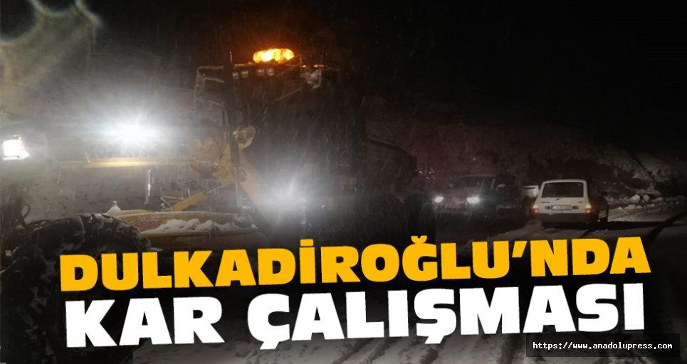 Dulkadiroğlu'nda Kar Çalışması