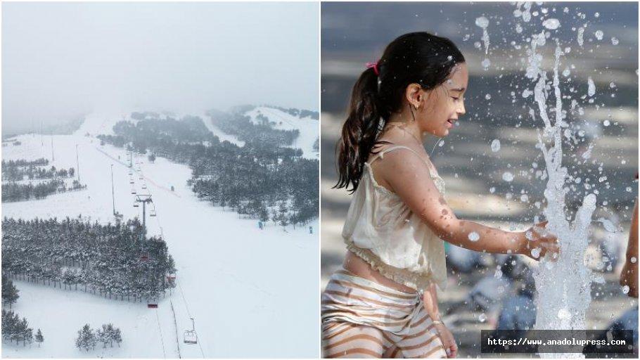 En Soğuk İl Erzurum, En Sıcak İl Şırnak