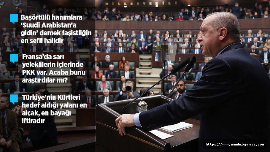 Erdoğan: Bolton'ın Verdiği Mesajı Kabullenmemiz Mümkün Değil