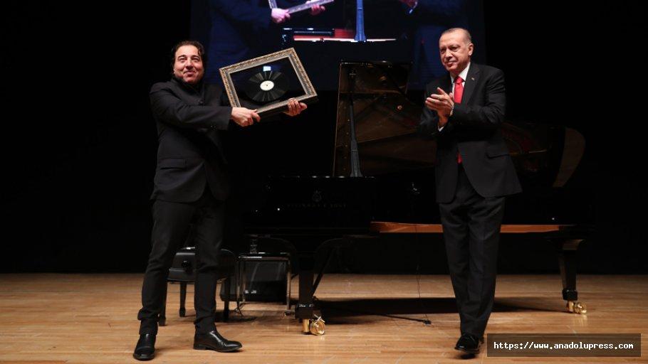 Erdoğan Fazıl Say'ın Konserini İzledi
