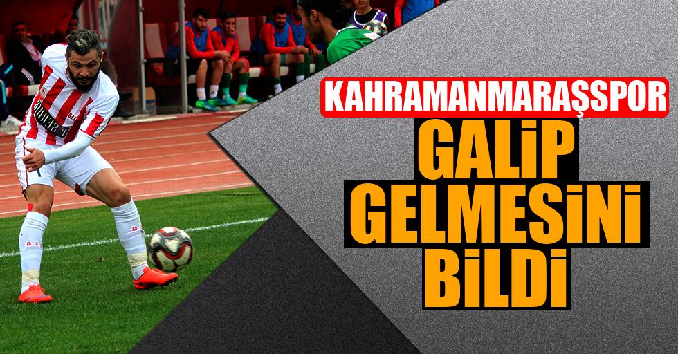 Kahramanmaraşspor: 2 - Bandırmaspor Baltok: 1