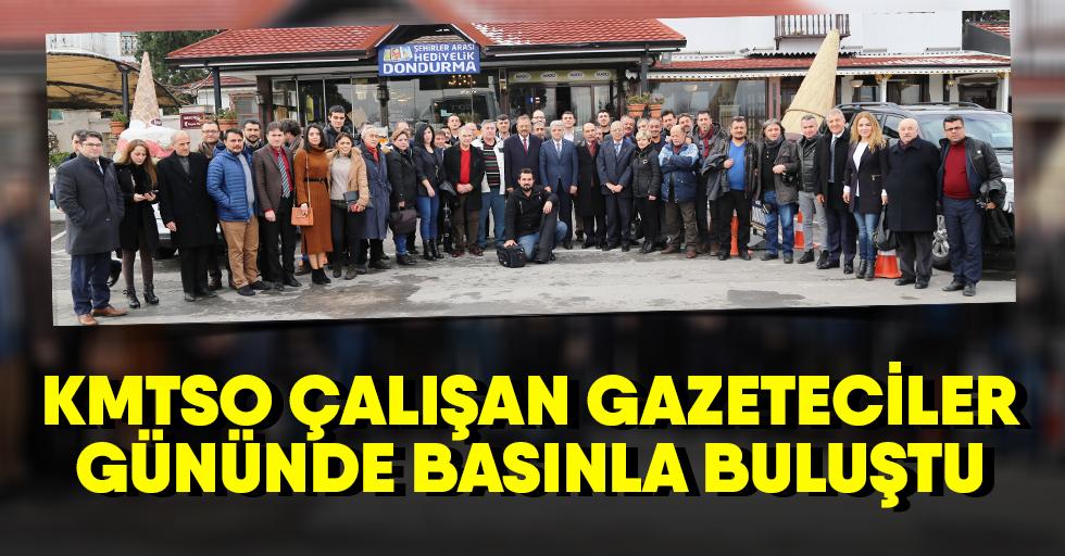 Kmtso Çalışan Gazeteciler Gününde Basınla Buluştu