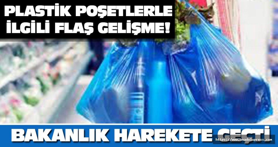 Plastik poşetlerle ilgili flaş gelişme!