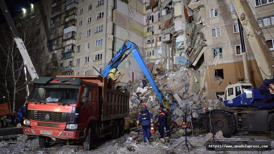 Rusya'daki gaz patlamasında ölü sayısı artıyor!