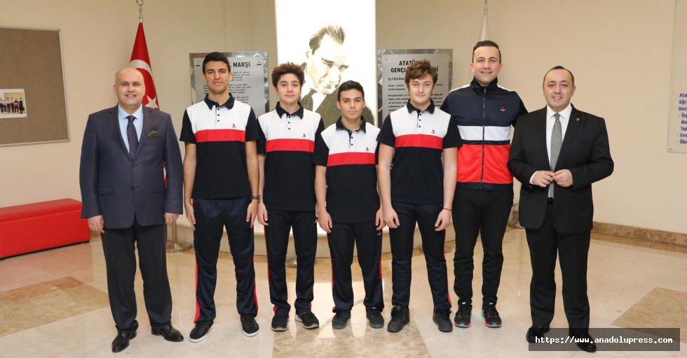 SANKO Okulları Tenis Takımı İl İkincisi
