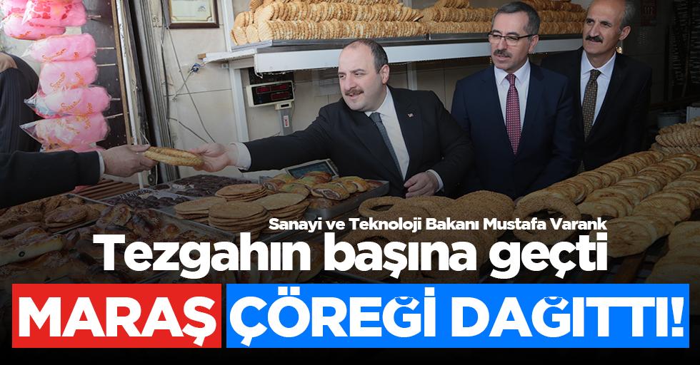 Bakan Varank, vatandaşlara meyan şerbeti ve taş fırın çöreği ikram ettirdi