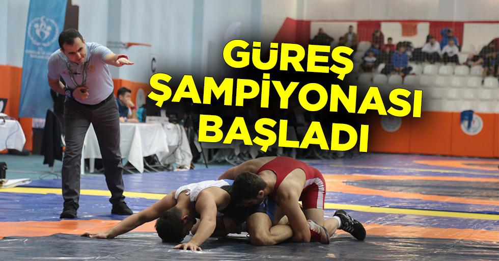 Kahramanmaraş'ta Güreş şampiyonası!